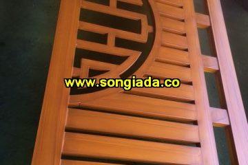 Cách sơn cửa sắt giả gỗ