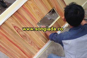 Cách pha màu sơn giả gỗ