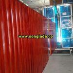 Cổng sắt sơn giả vân gỗ