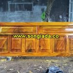 Cửa sắt sơn giả vân gỗ