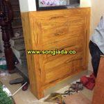 Mẫu cột, tường, trần sơn giả gỗ