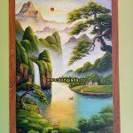 Ve tranh tuong tai Ho Chi Minh