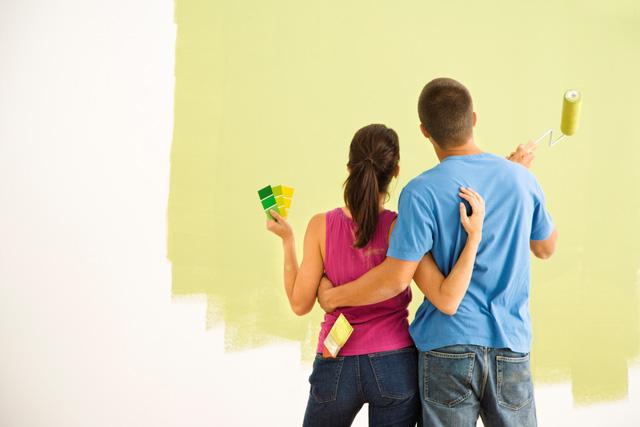 hướng dẫn cách sơn nhà cũ