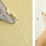 xử lý bề mặt tường cũ trước khi sơn